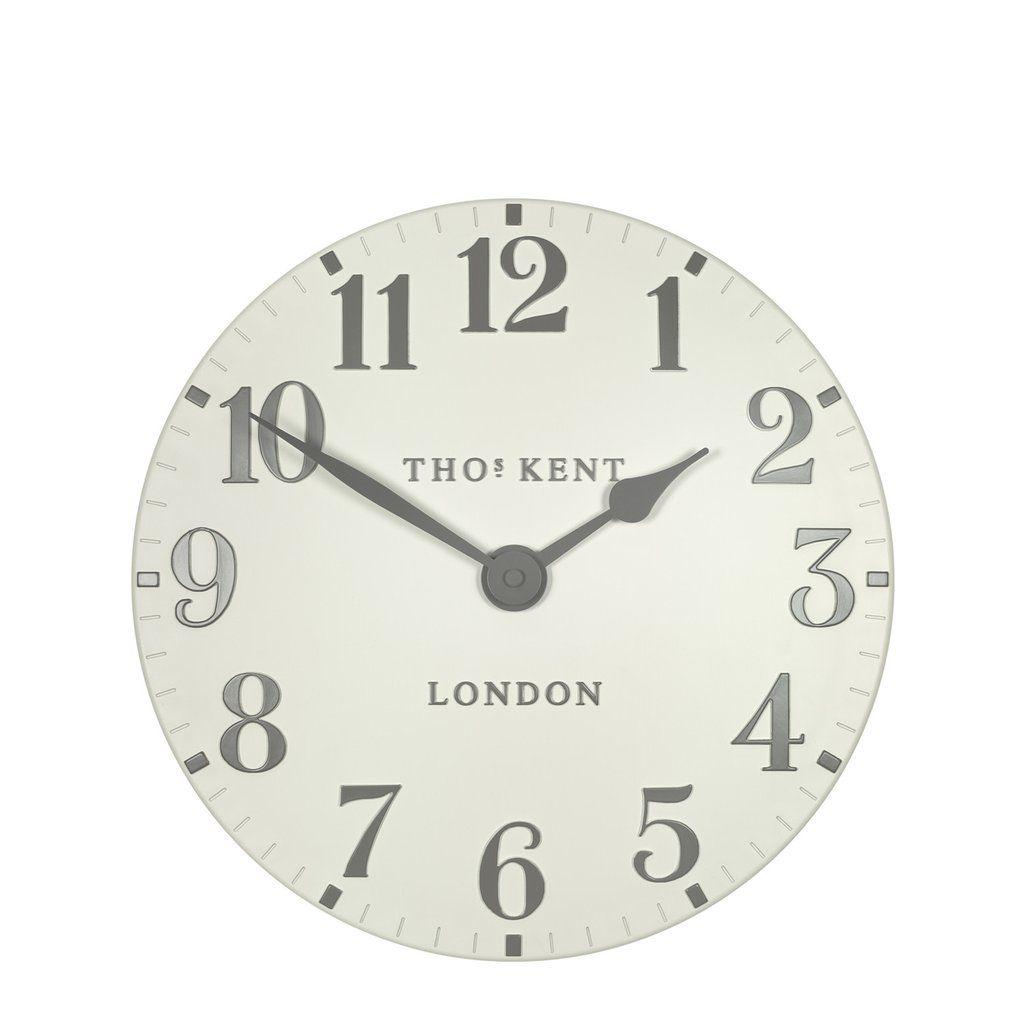 Thomas Kent Arabic Double Cream Wall Clock