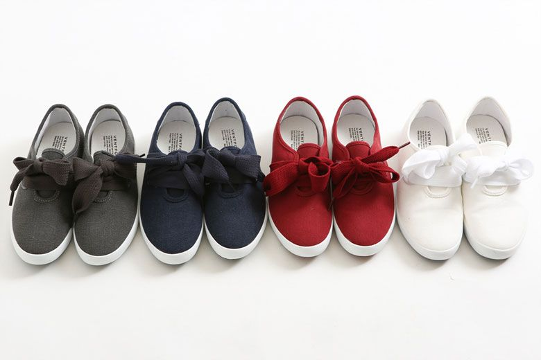 Ribbon Tie Sneaker