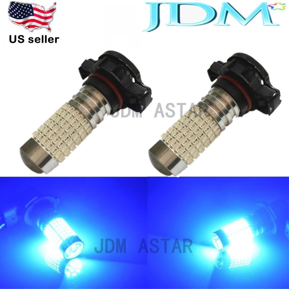 Extra 20 Off Jdm Astar 144 Smd Extreme Bright Ultra Blue H16 5202 Car Drl Fog Light Led Bulbs Jdma Automotive Led Lights Led Replacement Bulbs Led Fog Lights