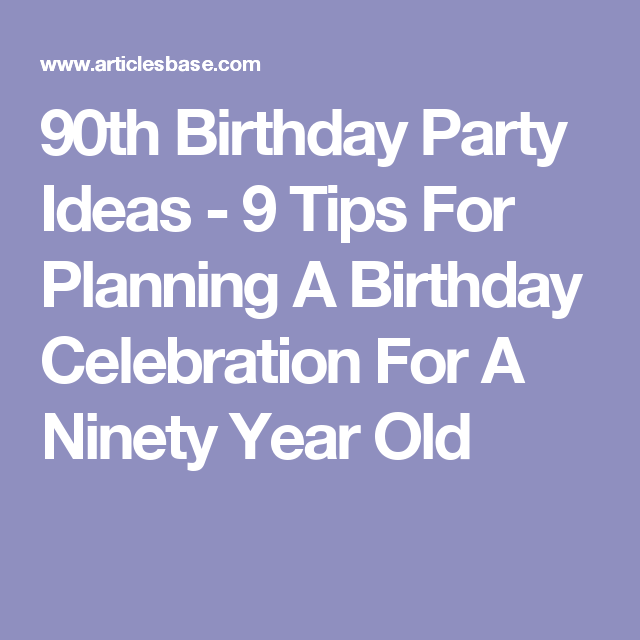 Celebrating 70th Birthday Quotes: 9 Tips For Planning A Birthday
