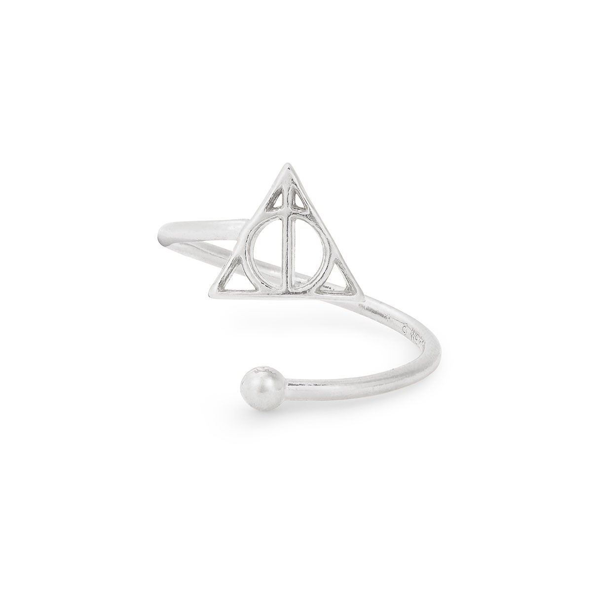 Harry potter deathly hallows ring wrap ring wraps deathly wear the deathly hallows ring wrap featuring the deathly hallows symbol to assist you as you biocorpaavc Images