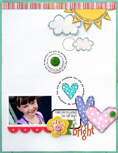 """This is the cutiest page ever! Just love Shanna Vineyard's Kit-""""Home is Where the Heart is"""""""