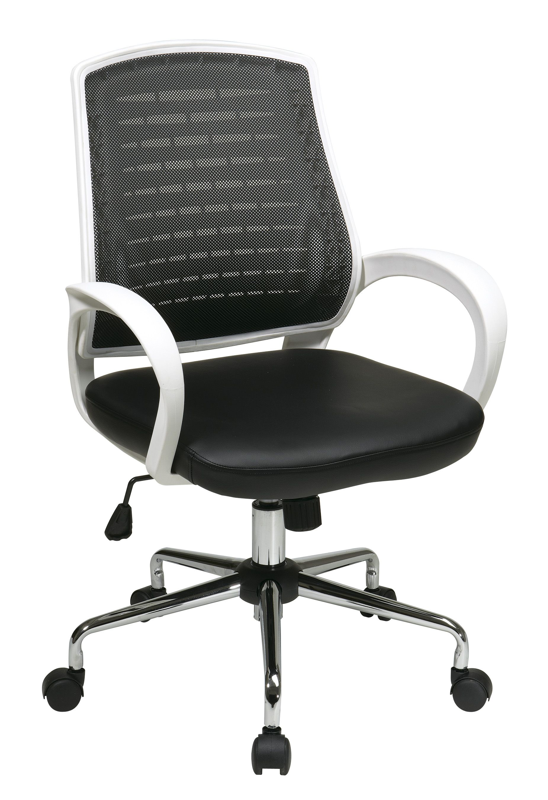 Ave Six Rio Executive Office Chair in Black Finish