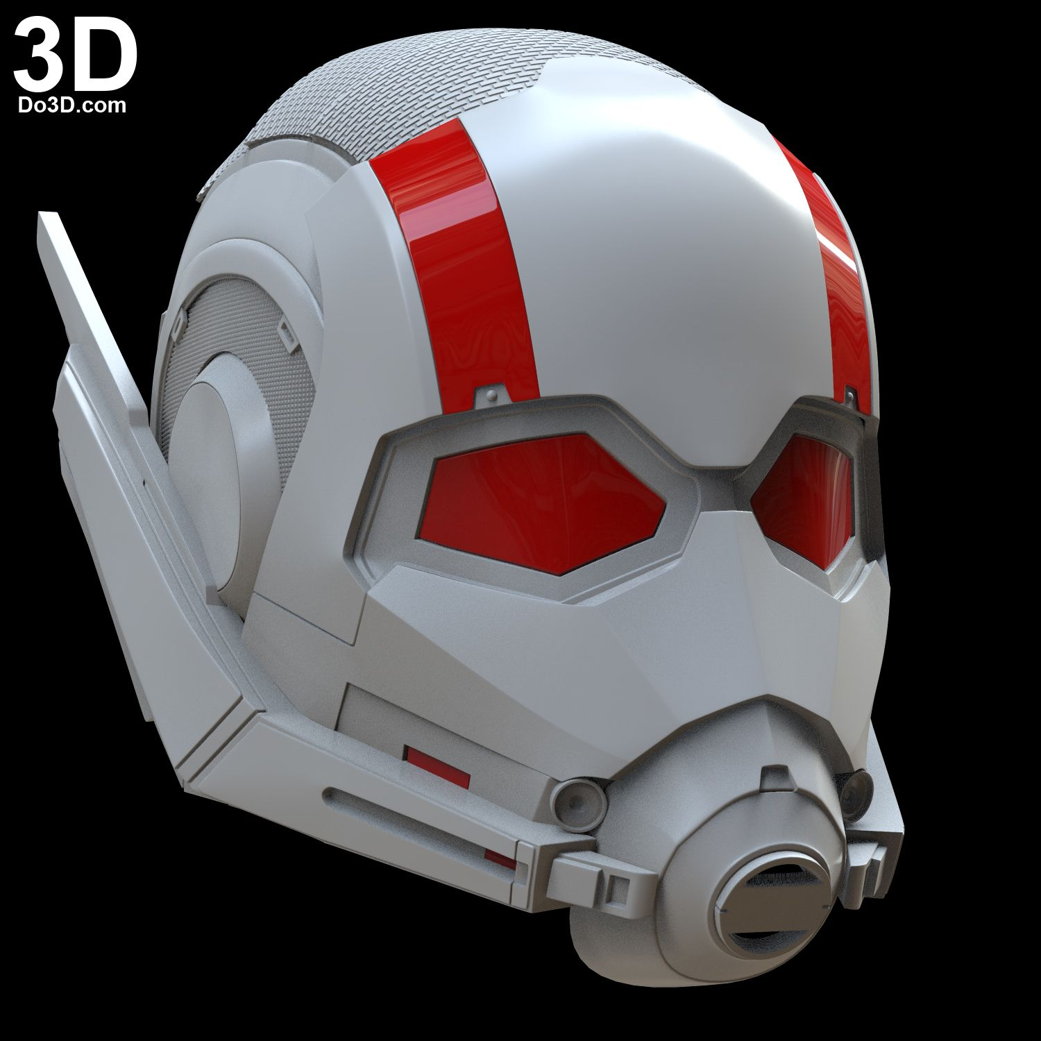 Ant Man And The Wasp Male Girl Woman Helmet 3d Printable Model Print File Stl Do3d 01 Ant Man 3d Printable Models Man