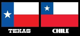 Please Notice The Difference Between Our Flags Chile Flag Texas Travel Texas