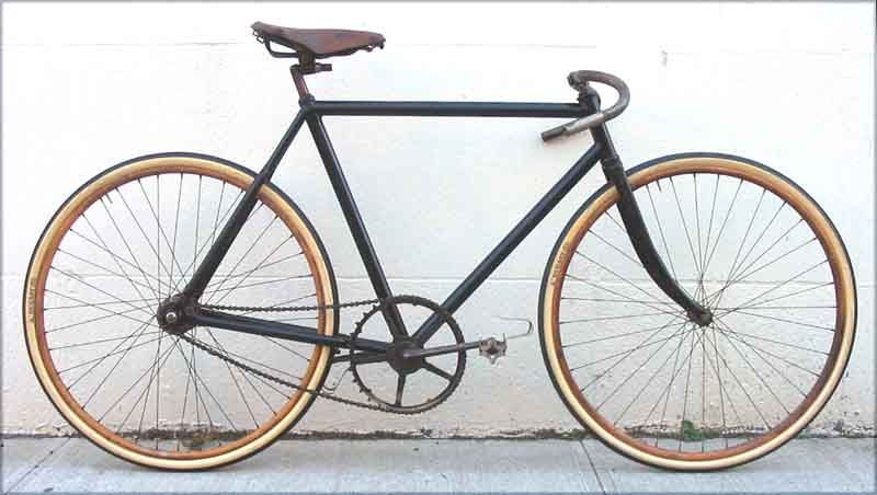 Elly track bicycle (1899-USA) Don\'t know what make it is, I\'ll call ...