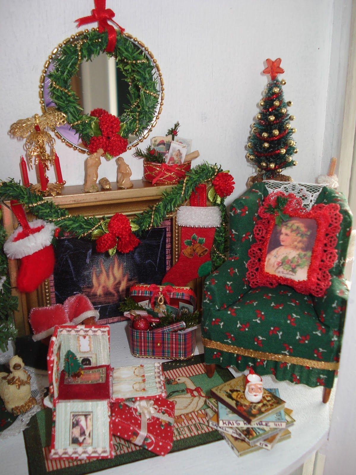 prachtig | kerst | Pinterest | Miniatur und Puppenstube