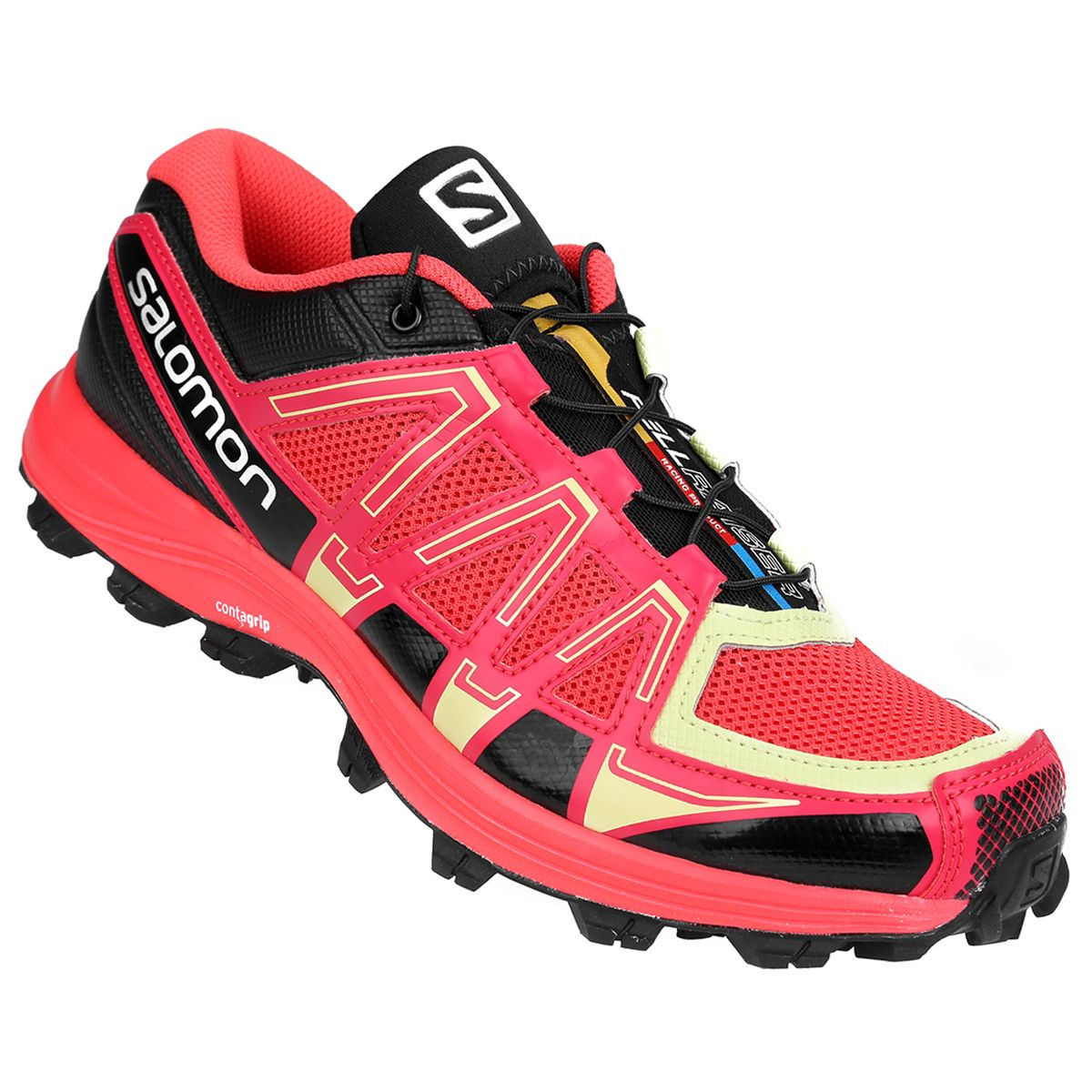 Zapatillas Salomon Fellraiser Rojo e Verde  0893f18d22