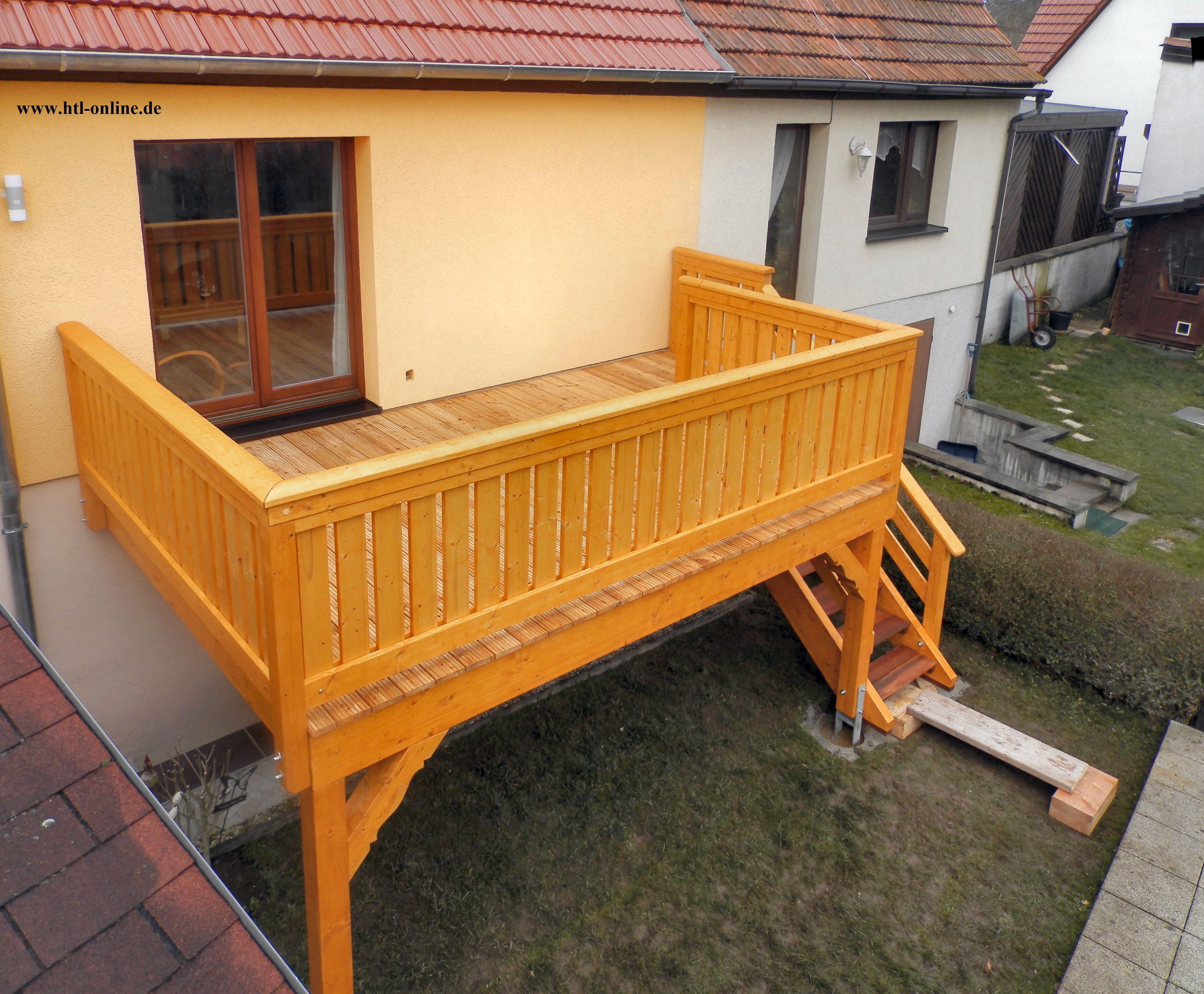 Balkon Aus Holz Htl Holztechnik Holz Arbeit Mit Holz Balkon Aus Holz Holzbalkon Balkon Carport Holz