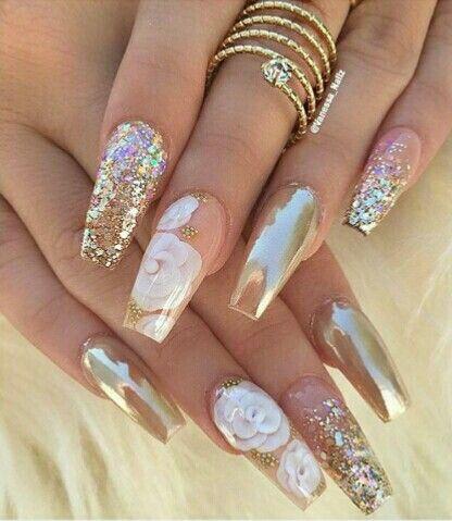 Pin by b g on nail design pinterest nail nail long for 3d nail art salon new jersey