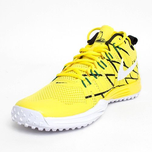 Nike Lunar TR1 NRG Oregon Ducks Puddles Yellow Size 85 Mens Running Shoes