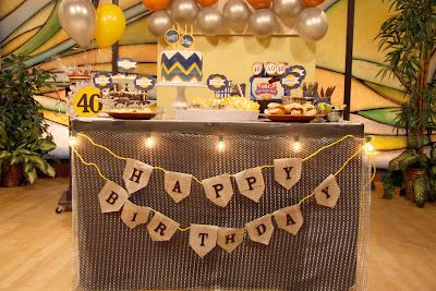 Man Cave Birthday Ideas : Masculine man cave birthday party details my