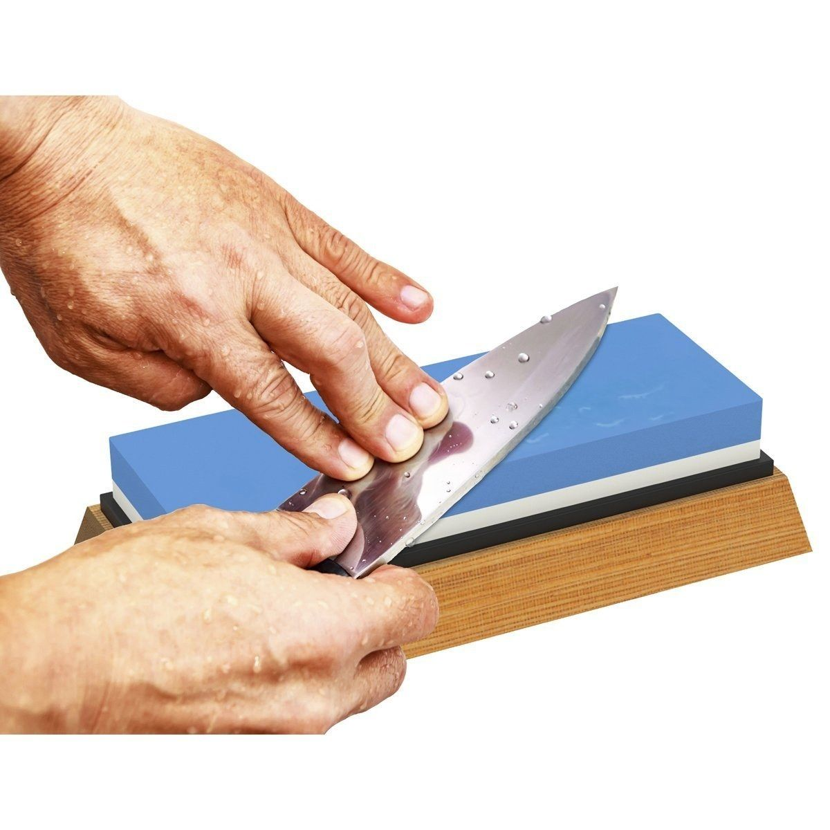 How To Sharpen A Knife And Hone It The Right Way Epicurious Knife Sharpening Stone Best Knife Sharpener Knife Sharpening