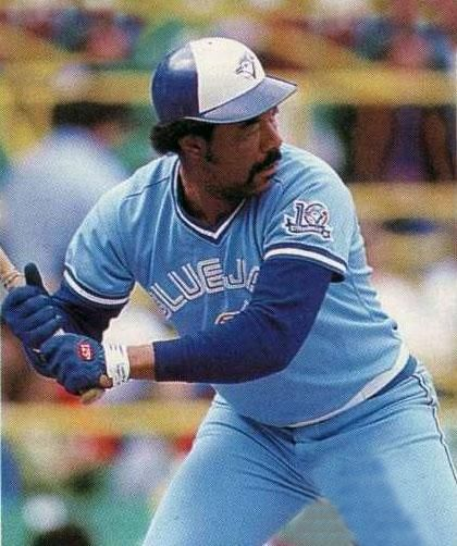 Toronto Blue Jays Photo 1986 Cliff Johnson At The Plate