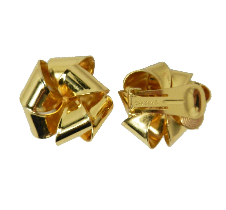 Christian DIOR Earrings Dior Bow Ribbon Earrings Dior Jewelry