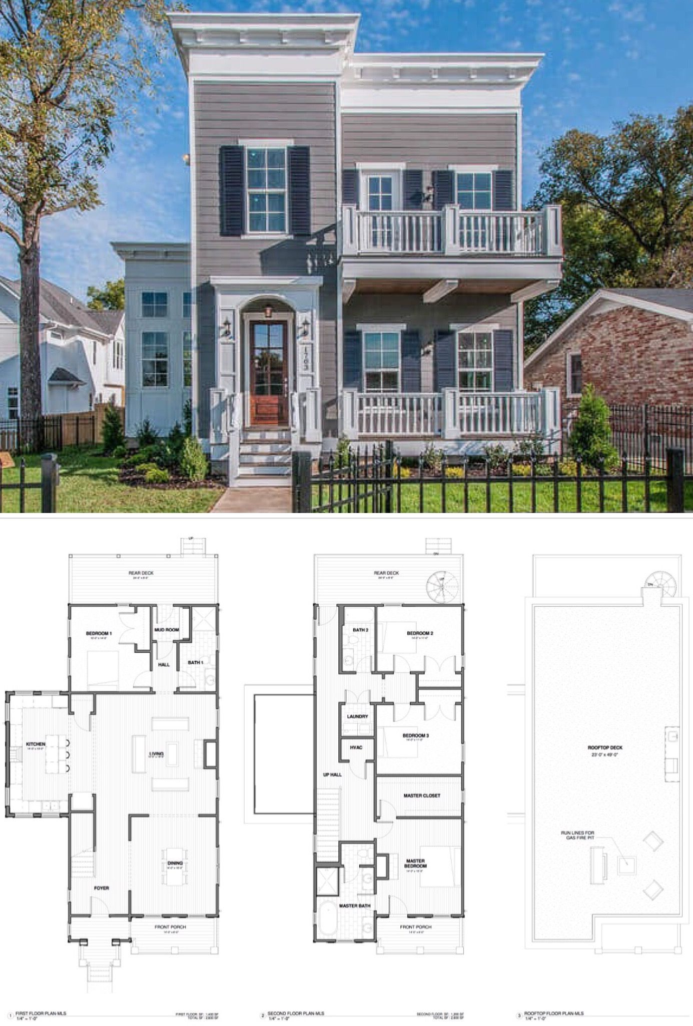 Faith britney plan bathrooms bedrooms area sq ft high end design features massive rooftop deck  perfect place for  fire pit and outdoor also contemporary modern elevation of welcome home in rh pinterest