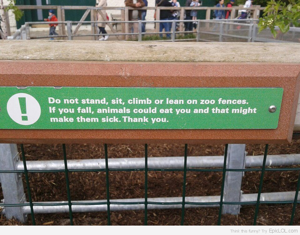 Haha I Guess People Like Animals More Than Humans Dublin Zoo Funny Signs Funny Pictures