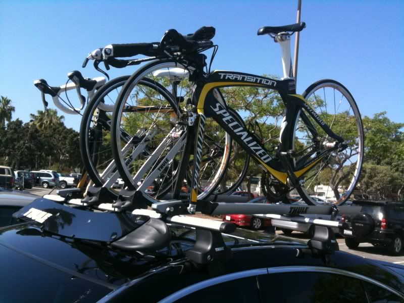 Click the image to open in full size. Thule bike, Thule
