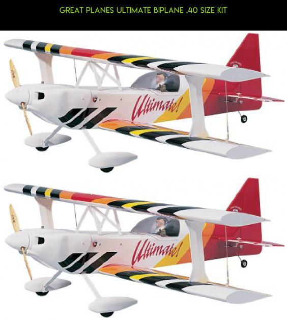 Great Planes Ultimate Biplane  40 Size Kit #products #tech