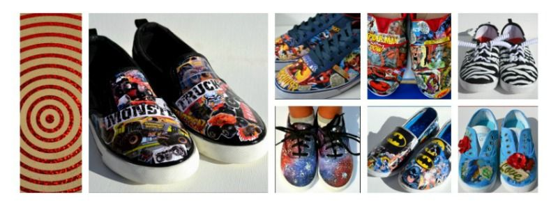 1b1e5f1ffa4 Totally Cool Custom Shoes from PricklyPaw - Gotta check them out ...