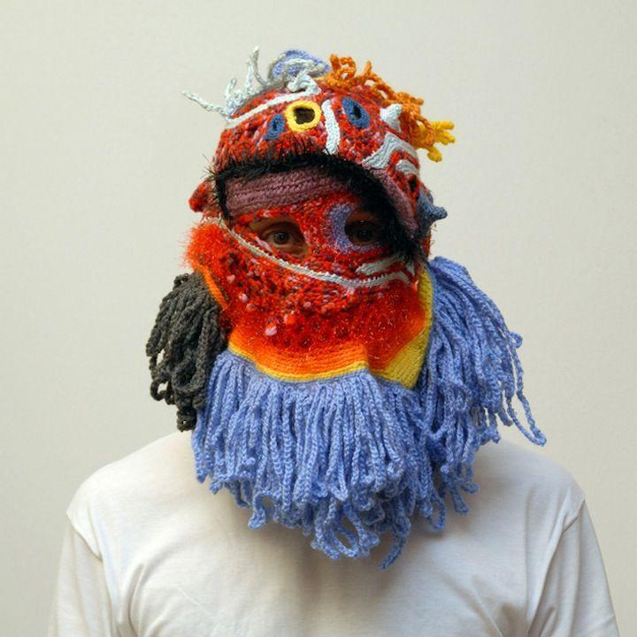 official site pretty cool first rate Des cagoules en laine hautes en couleur | masque anti ...