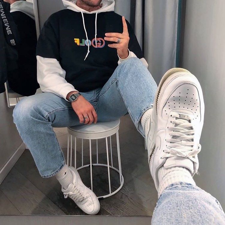 NEW COLLECTION : CLICK ON OUR WEBSITE ⬇️ ⠀ ⠀ ⠀ (streetwear highsnobiety fashion street styles urban aesthetic outfits men women sneakers hypebeast) #manoutfit