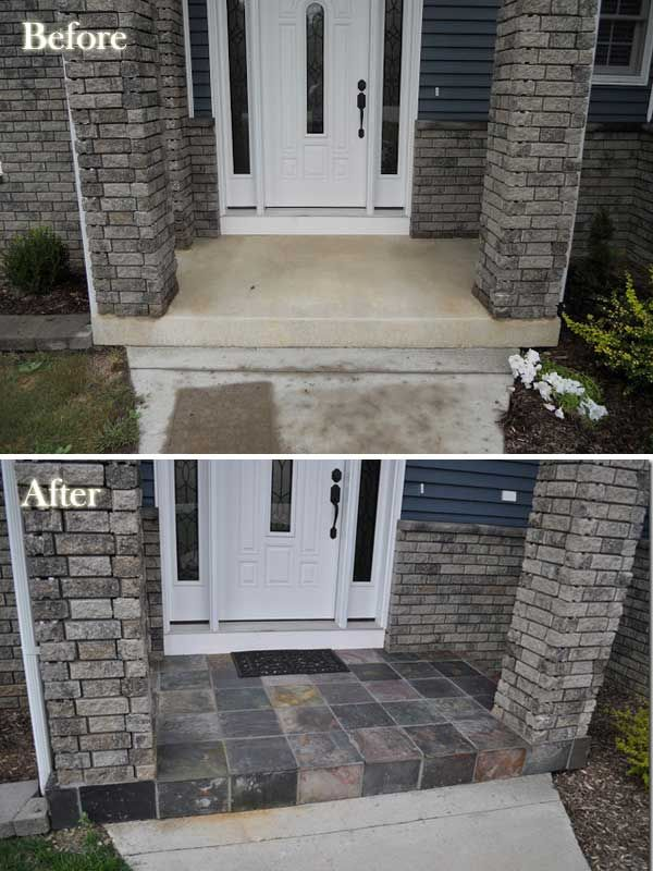 20 Easy And Cheap Diy Ways To Enhance The Curb Appeal Curb Appeal Tile Entryway And Slate