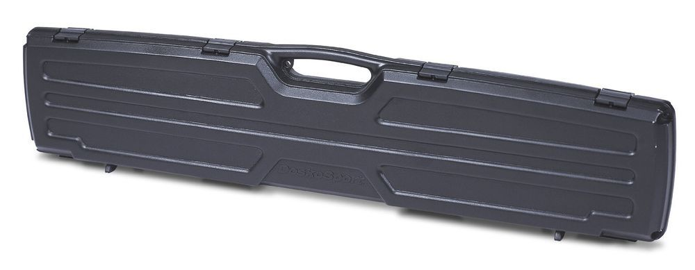 Rifle Gun Case Guard Se Single Plano Scoped Shotgun Brand Storage Black Hard New #Plano