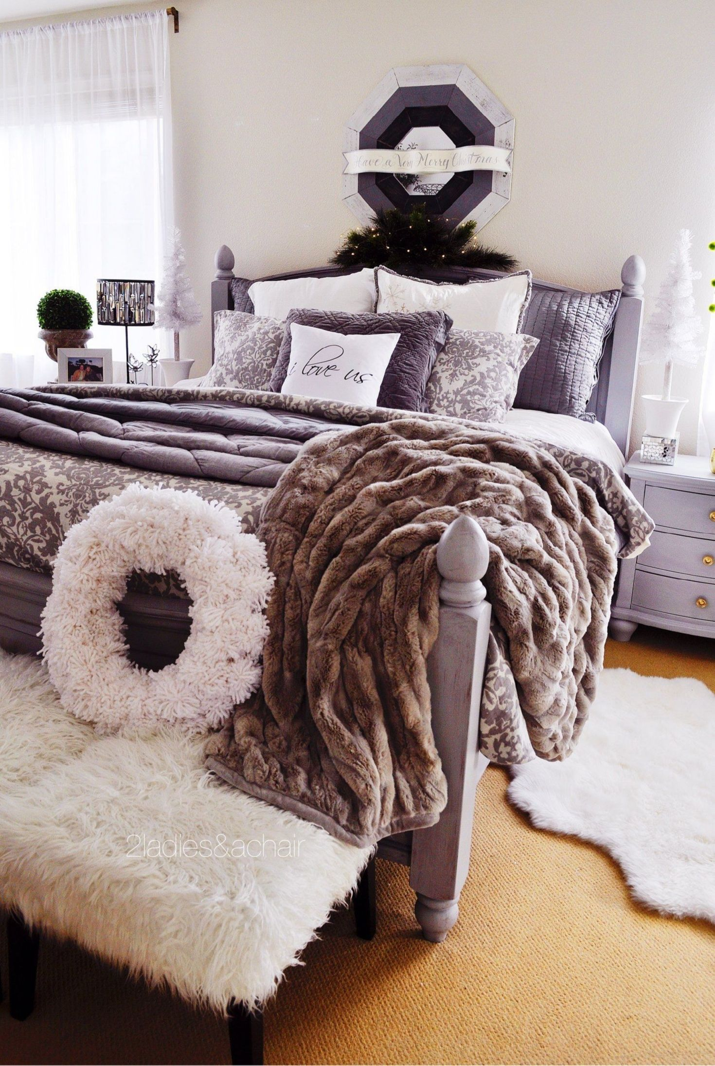 Comfy Bedding Sets For The Bedroom In Winter I Like To Add Many Layers Of Texture To The Bed To Create A Warm Co Cozy Bedroom Warm Comfy Bed Comfy Bedroom