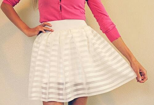 "Check out Kelsey Picard's ""White Skirt"" Decalz @Lockerz"