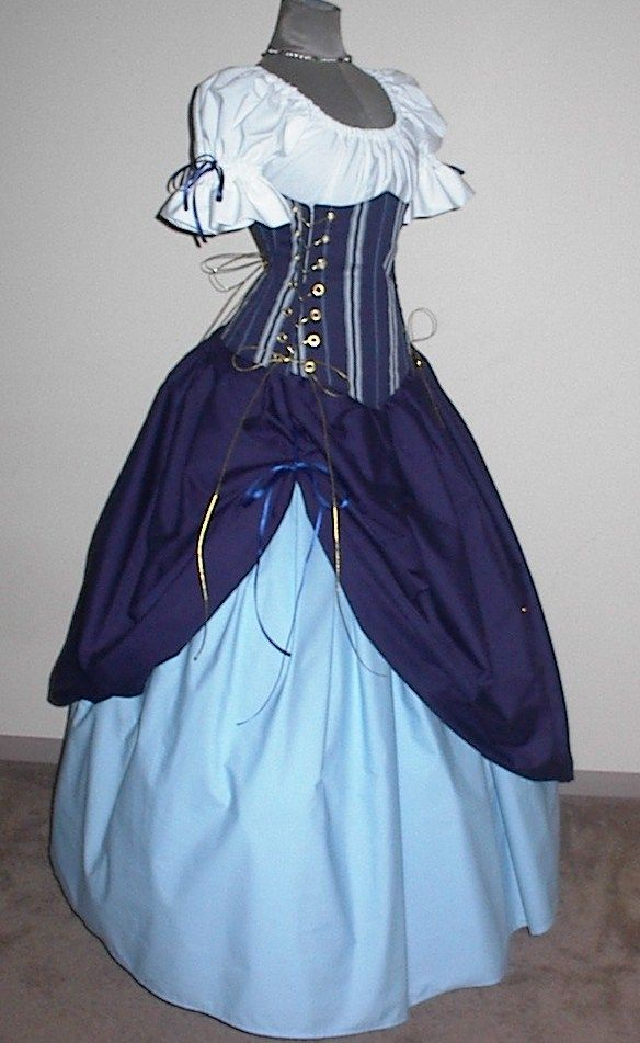 Twilight Maiden Ensemble - renaissance clothing, medieval, costume