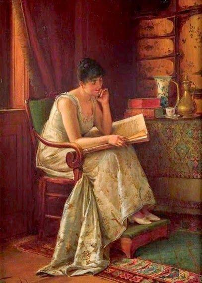 Isidor Kaufmann (Hungarian-Jewish: 1853-1921) - Artist's Wife
