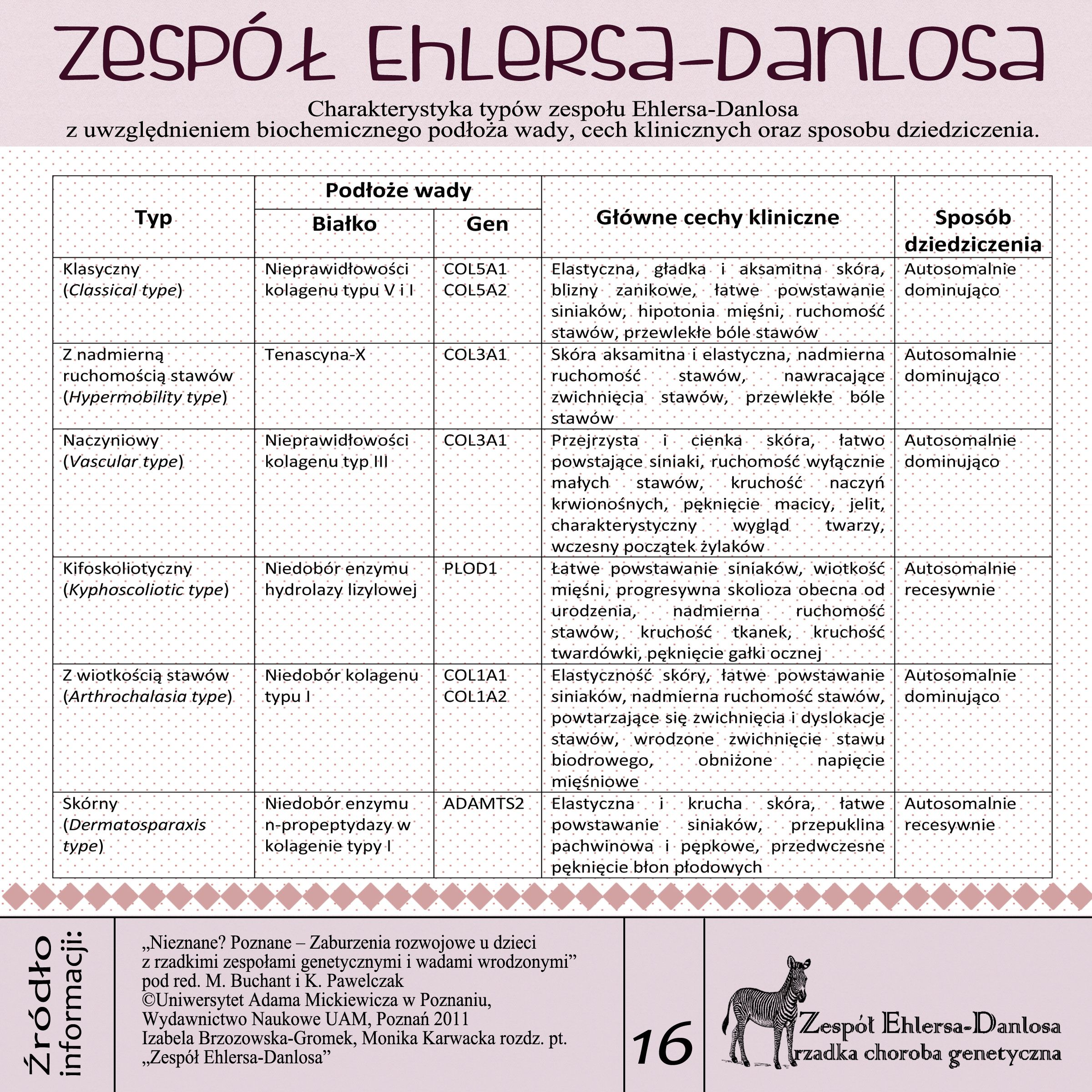 Eds Zespol Ehlersa Danlosa Ehlers Danlos Syndrom With Images