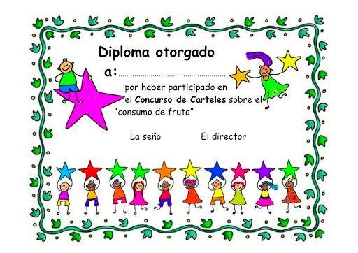 Plantillas de diplomas para niños de primaria - Imagui Diplomas