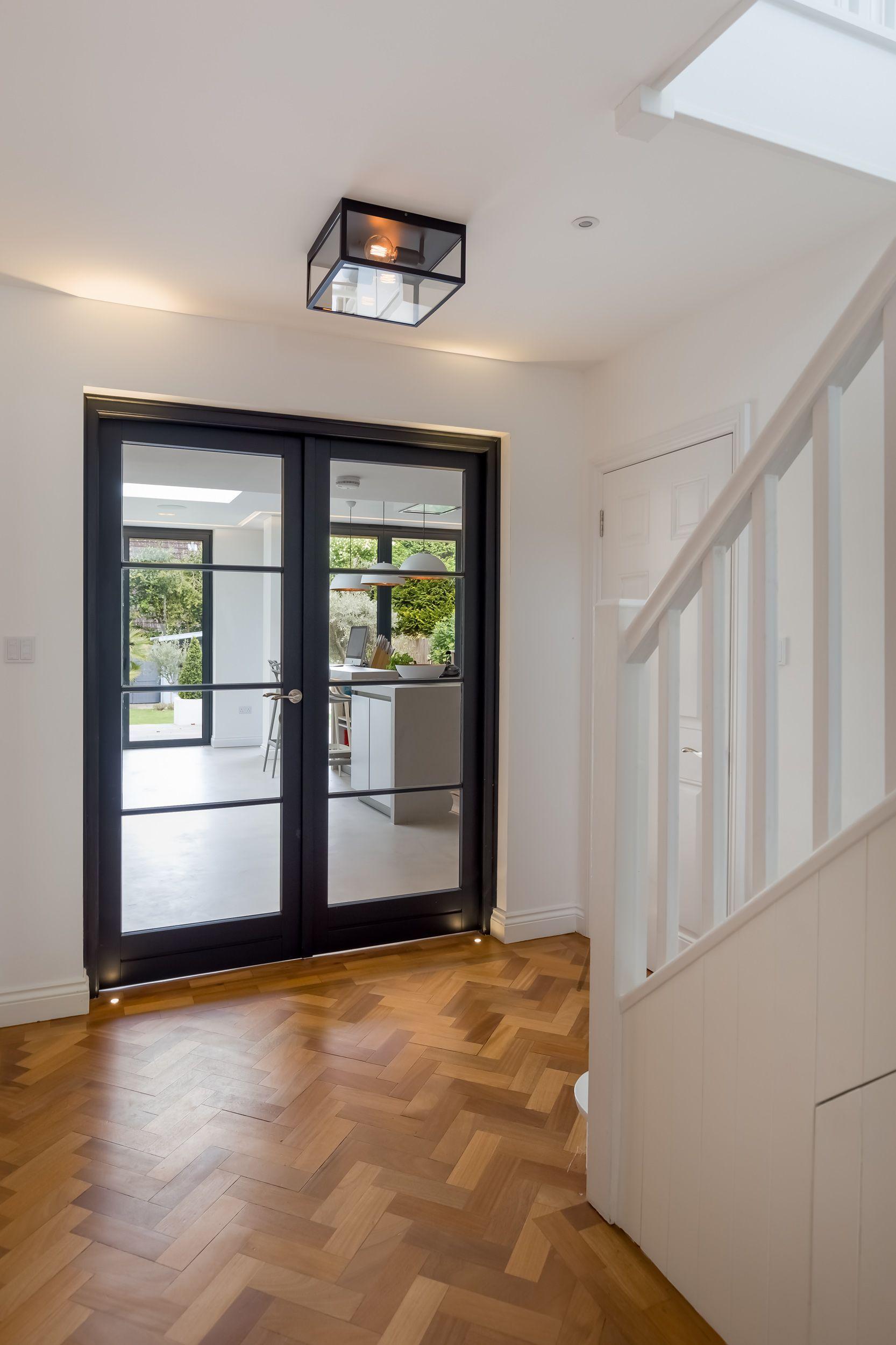 Hallway - Ground Floor Entrance - Stairs - Industrial Doors