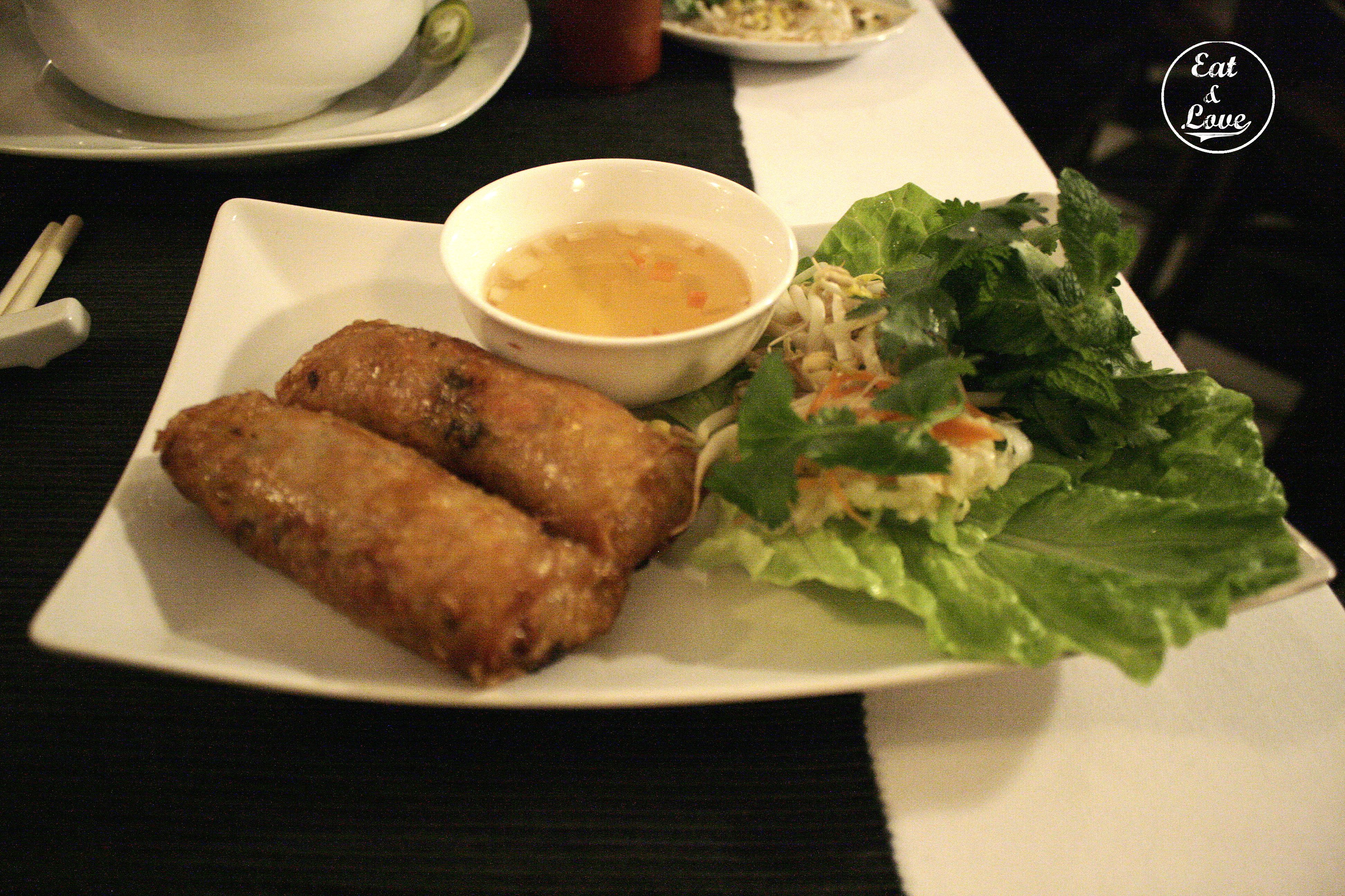 Rollitos Nem - Restaurante Vietnam - Madrid