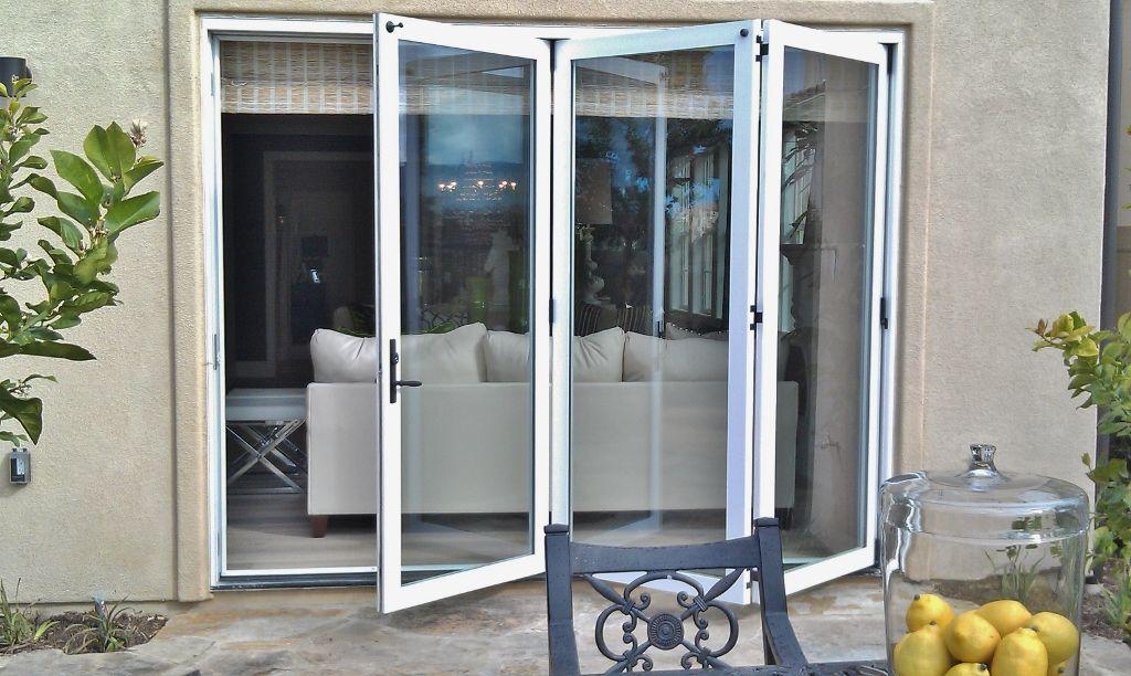 Bifold Exterior Doors | Davidson Homes Exterior Bifold Doors Carmel Valley  CA By Win Dor