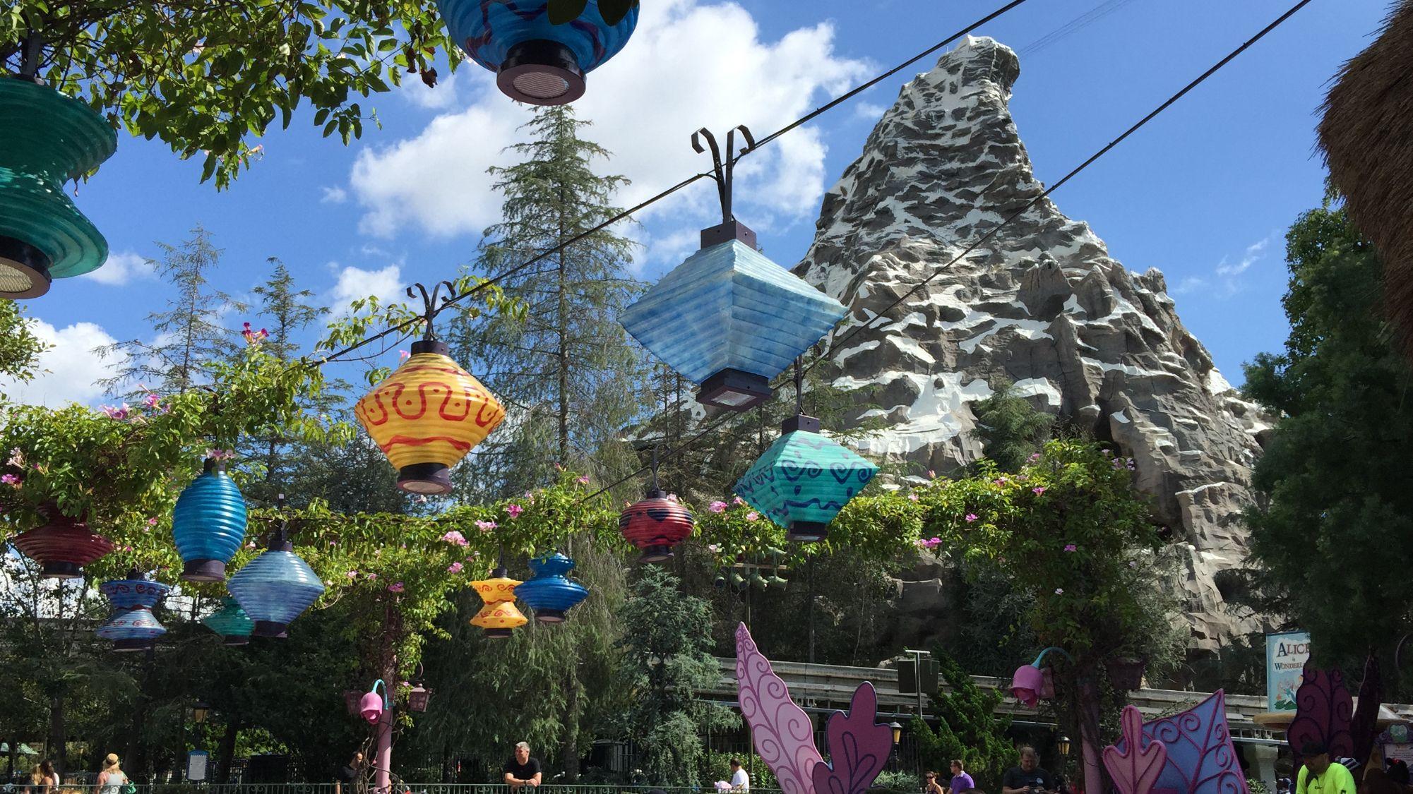 Matterhorn at Disneyland, CA October 2015!