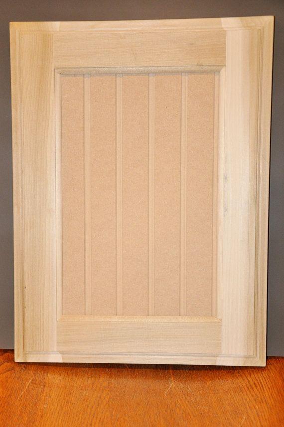 Bead Board Style Door Unfinished Paint Grade Cabinet Doors