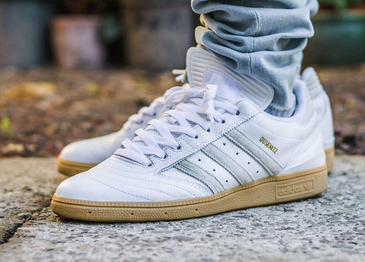 Adidas Busenitz Pro - White/Gum - 2015
