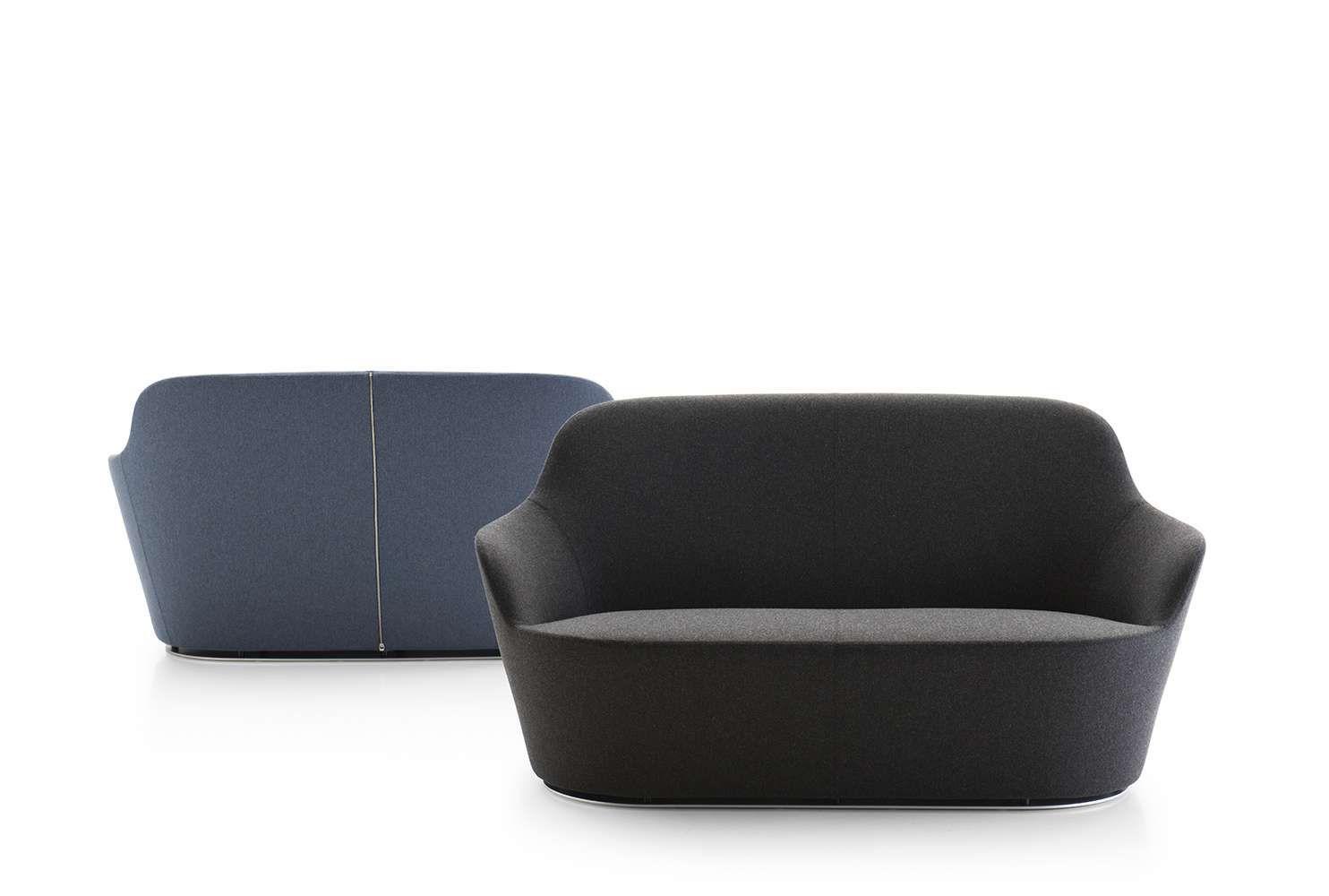 sofa harbor b b italia design by naoto fukasawa furniture rh pinterest com