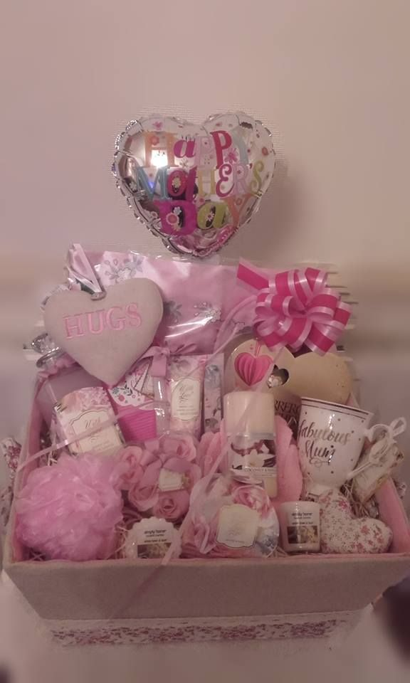 Mother S Day Pamper Hamper Gift Set With Images Diy Mother S