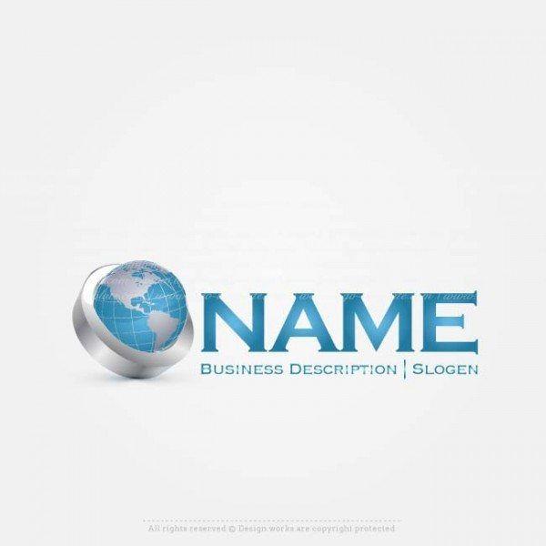 Creative 3D Globe Logo Designs