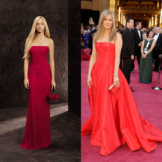 Celebrity Inspired Bridesmaid Dresses