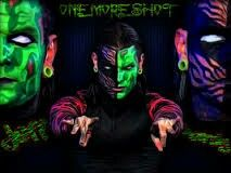Jeff hardy has white eyes