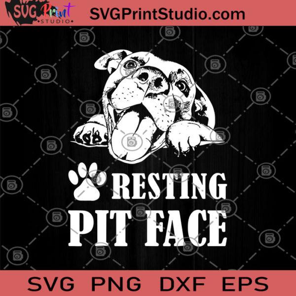 Download Resting Pit Face SVG, Pitbull love SVG, Mom Of A Pit SVG ...