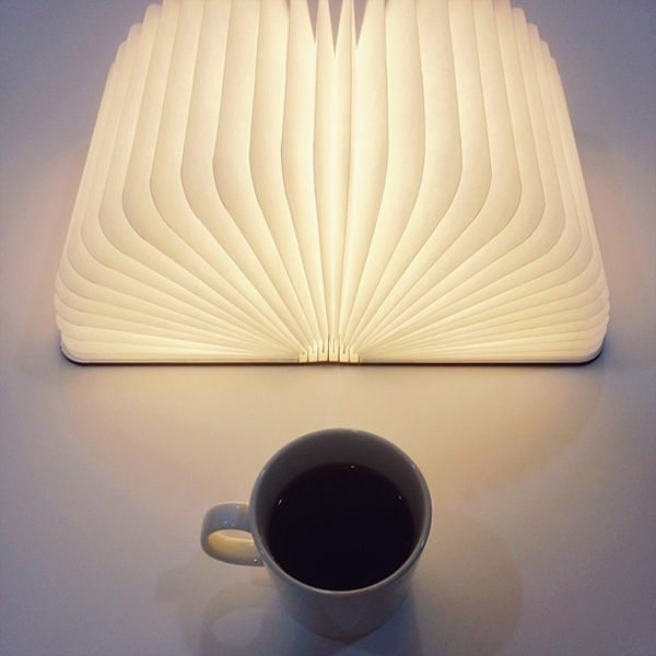 Shark Tank Book Light Fascinating Lumio A Portable Light That Opens Up Like A Book  Lamps Shark Decorating Inspiration