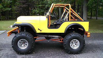 1959 Willys Jeep With Cj5 Fiberglass Tub Lifted Toyota Axles Lockers Willys Jeep Jeep Willys