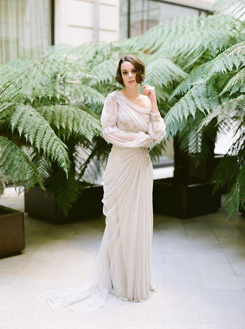 Belle epoqueu romantic vintage wedding inspiration in paris belle