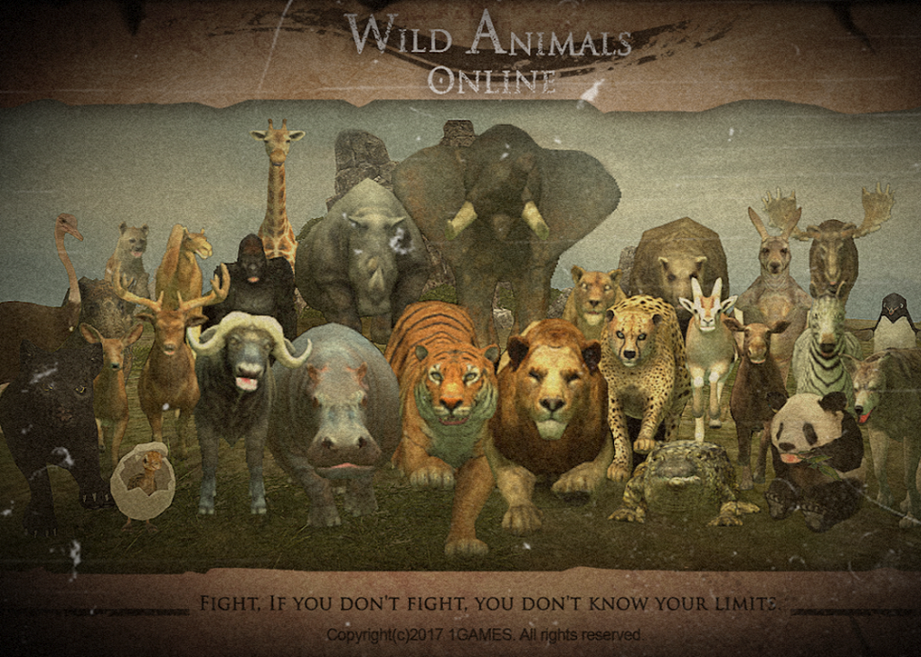 Wild Animals Online VIP Mod Download APK Animals